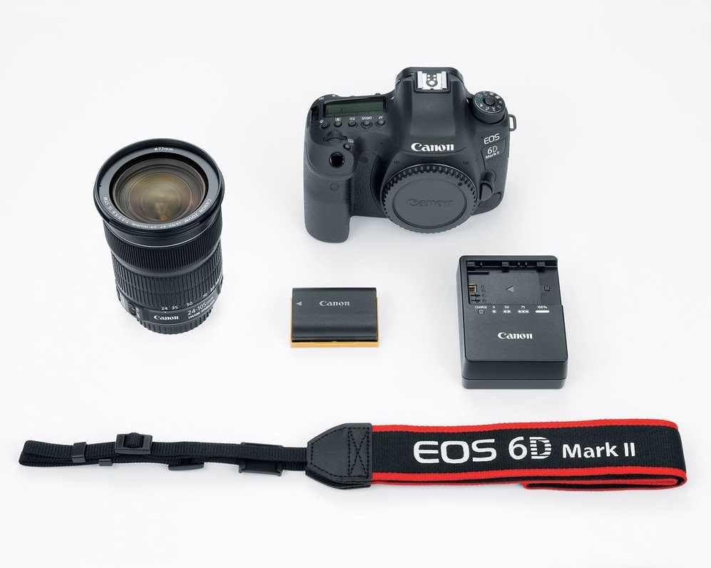 6D mark II - box