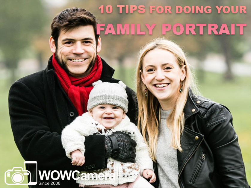 10 Tips for Doing Your Family Portrait