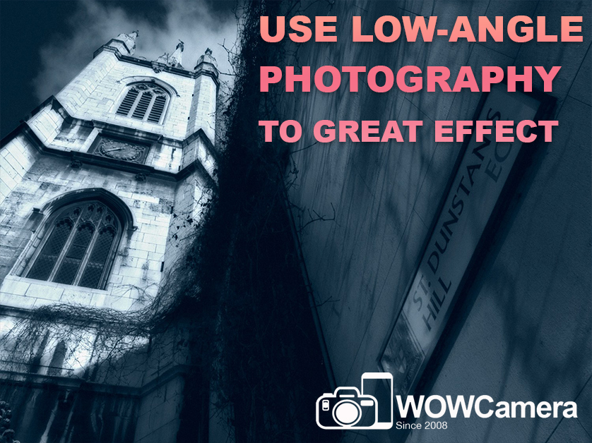 Get Low and Aim High – How to Use Low-Angle Photography to Great Effect