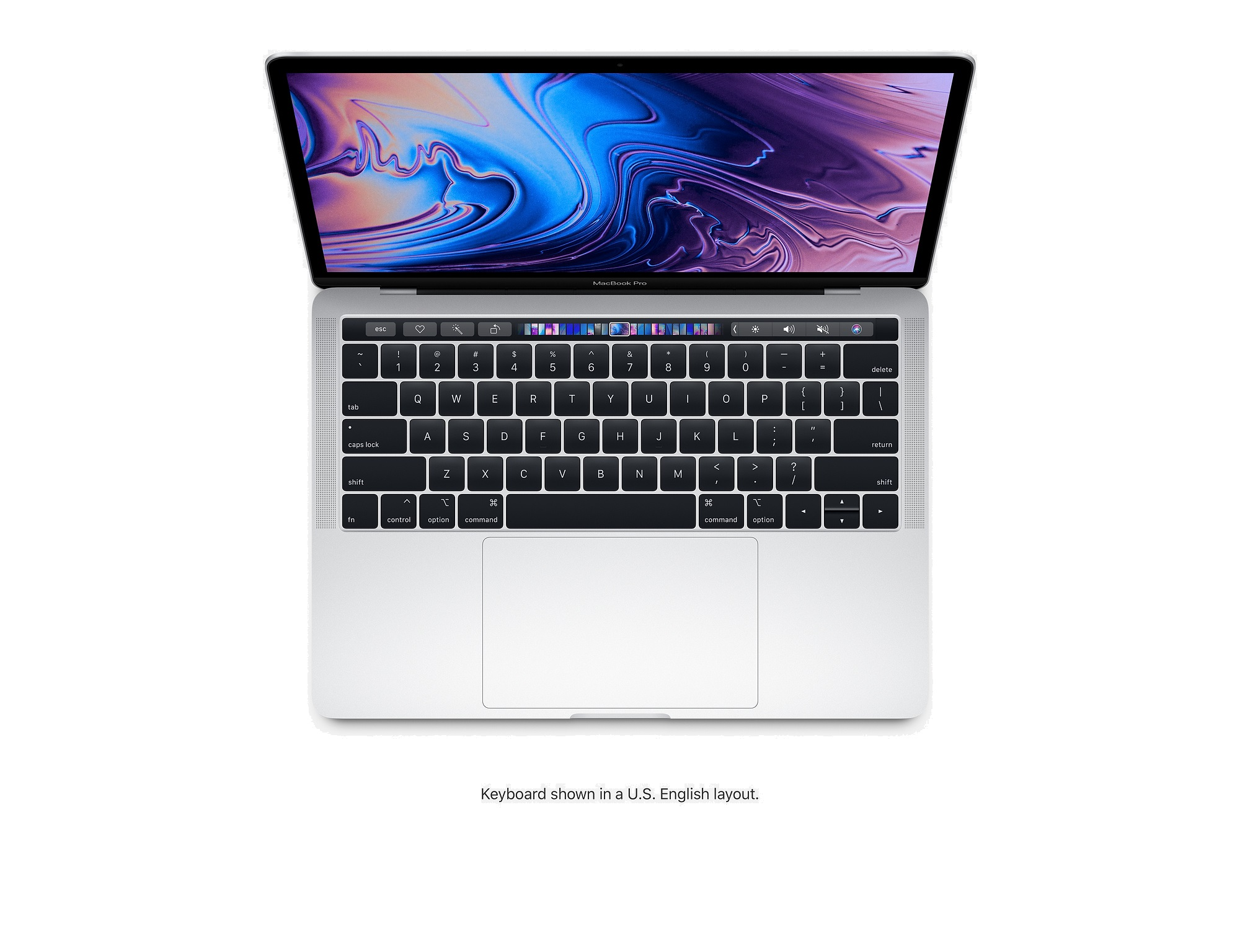 Apple MacBook Pro with Touch Bar 13-inch (2018) 2 3GHz 8GB RAM 512GB -  Silver