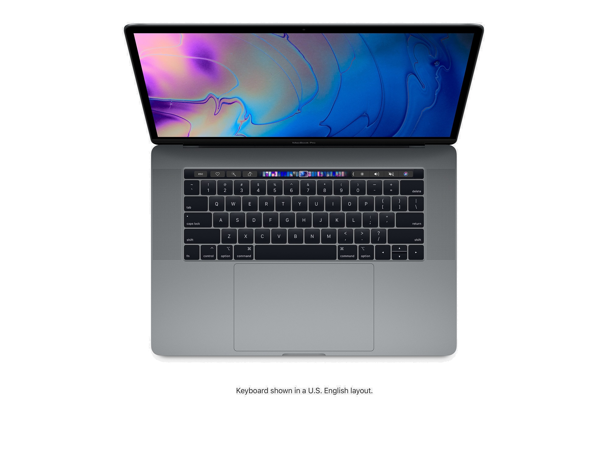 Apple MacBook Pro with Touch Bar 15-inch (2018) 2 2GHz 16GB RAM 256GB -  Space Grey