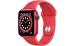 Apple Watch 6 GPS 40mm Red Aluminium Case with Red Sport Band