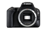 Canon EOS 200D Digital SLR Camera Body - Black