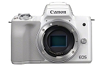 Canon EOS M50 Digital Camera Body - White