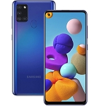Samsung Galaxy A21s (2020) A217 64GB 4GB RAM Dual SIM (Unlocked for all UK networks) - Blue