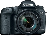Canon EOS 7D Mark II with 18-135mm IS USM Lens