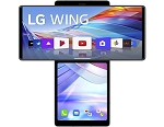 LG Wing 5G 128GB 8GB RAM Single SIM (Unlocked for all UK networks) - Aurora Gray