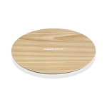 Momax Q.Pad Max 15W Fast Wireless Charger - Brown Wood