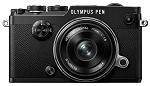 Olympus PEN-F with 17mm ED Lens - Black/Black