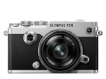 Olympus PEN-F with 17mm ED Lens - Silver/Black