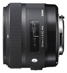 Sigma 30mm f1.4 DC HSM A Lens - Canon Fit