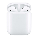 Apple AirPods (2019) with Wireless Charging case -White