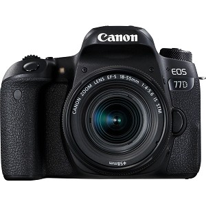 Canon EOS 77D Digital SLR with 18-55mm IS STM Lens
