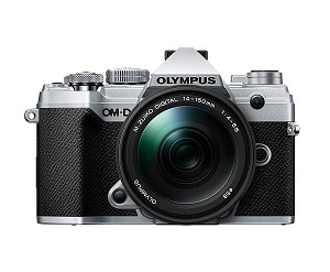 Olympus OM-D E-M5 Mark III Silver with 14-150mm Lens
