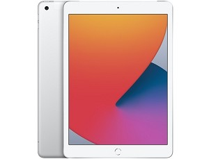 Apple iPad (2020) 10.2-inch 128GB 4G LTE (Unlocked for all UK networks) - Silver