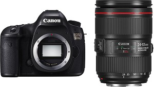 Canon EOS 5DS with 24-105mm IS II USM Lens