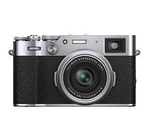 Fujifilm X100V Mirrorless Digital Camera - Silver