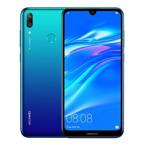 Huawei Y7 (2019) 32GB 3GB RAM Dual Sim (Unlocked for all UK networks) - Aurora Blue