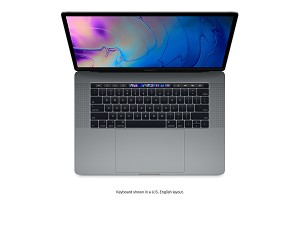 Apple MacBook Pro with Touch Bar 15-inch (2018) 2.2GHz 16GB RAM 256GB - Space Grey