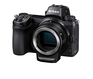 Nikon Z7 FX-Format Mirrorless Camera with FTZ Adapter