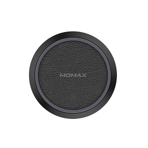 Momax Q.Pad Wireless Charger (for Qi-compatible devices) - Black