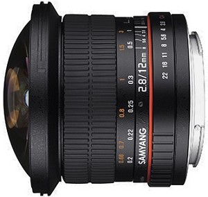 Samyang 12mm f2.8 ED AS NCS Fisheye Lens - Nikon Fit